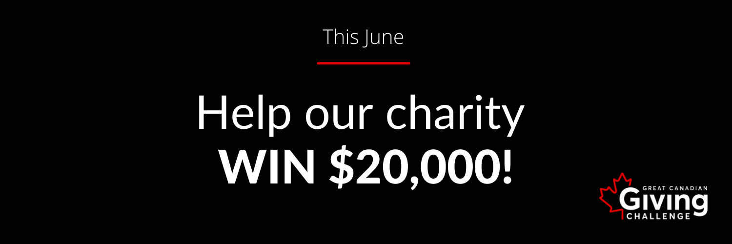 Help our charity win 20k